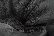 Лосины женские на меху с полосой, фото 3