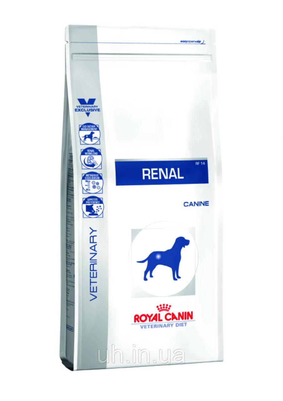 Royal Canin Renal RF16 сухий лікувальний корм для собак 14КГ