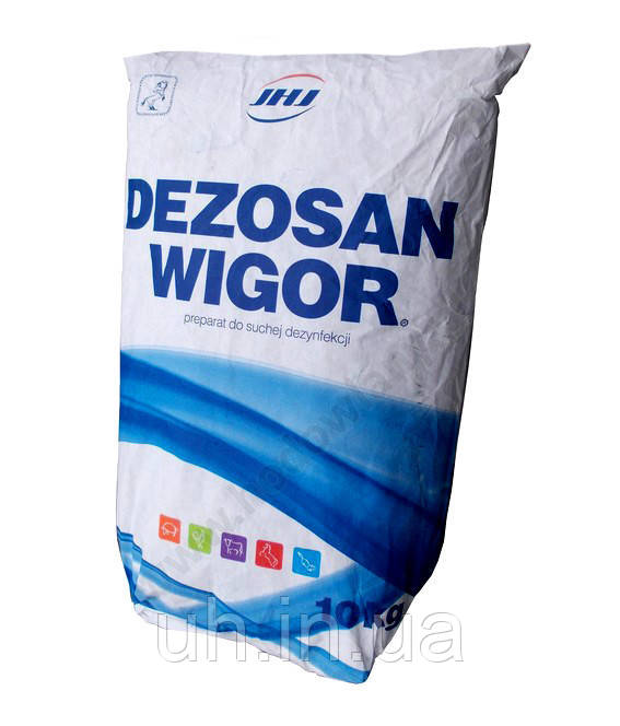Дезосан Вігор порошок для дезінфекції і санітарної обробки 10кг