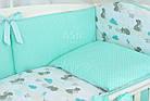 Комплект постельного белья Asik Мама-мишка и мятные облака 8 предметов (8-300), фото 2
