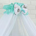 Комплект постельного белья Asik Мама-мишка и мятные облака 8 предметов (8-300), фото 5