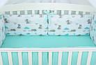 Комплект постельного белья Asik Мама-мишка и мятные облака 8 предметов (8-300), фото 9