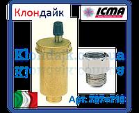 Icma Воздухоотводчик автоматический поплавковый c запорным клапаном 1/2