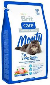 Brit Care Monty Indoor сухий корм для домашніх кішок 2КГ