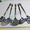 Набор кухонных предметов 5шт из нержавеющей стали Т164 оптом., фото 4