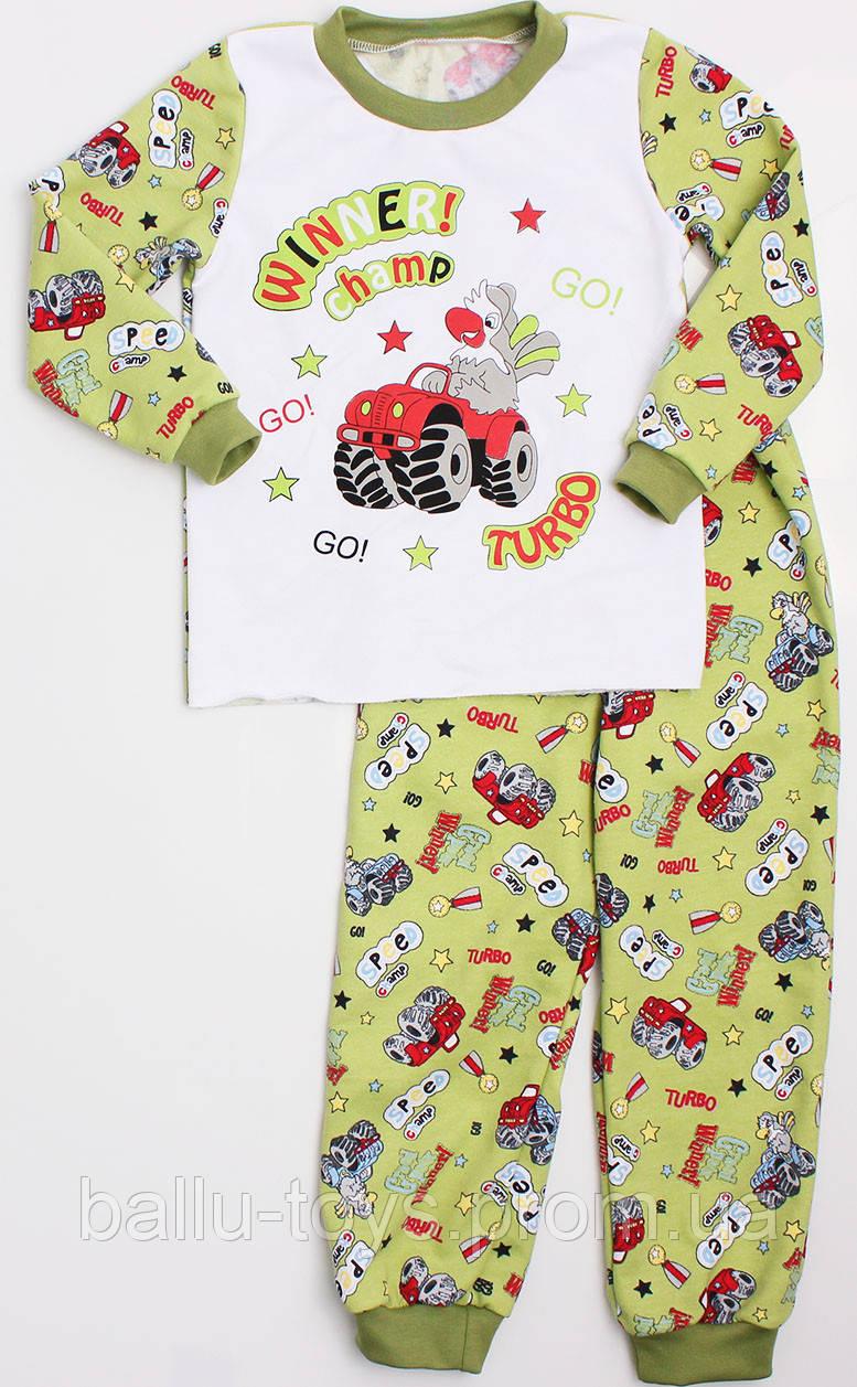 3e2fbc3f9463 Байковая детская пижама для мальчиков (2-6 лет) - Интернет магазин Irinka в
