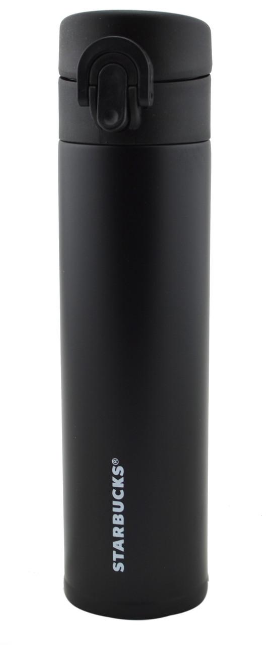 Термос Starbucks 400 мл ST-1 металлический черный