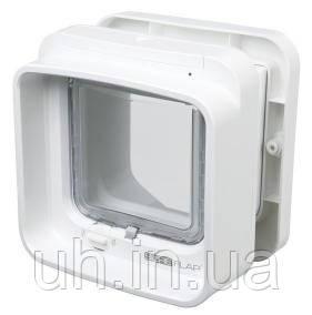 Trixie TX-38540 двостороння дверцята-автомат для кота SureFlap 21х21см,білий