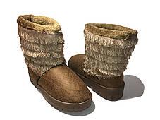 Модные теплые зимние Угги, фото 3