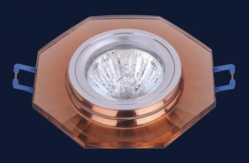 Встраиваемый светильник коричневый