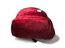 Оксамитовий рюкзак спортивного стилю Kipling, фото 3