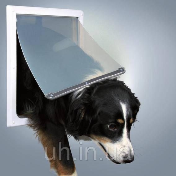 Trixie TX-3879  врезная дверца для кошек и собак крупных пород