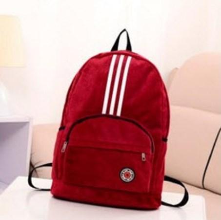 Оксамитовий рюкзак спортивного стилю Kipling