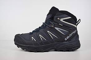Зимние мужские ботинки Salomon X ULTRA, внутри — натуральный мех
