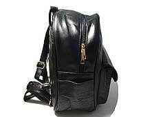 Стильний міський рюкзак з кишенею зміїним, фото 3