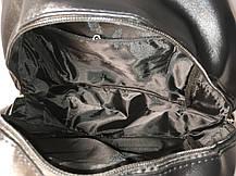 Стильный городской рюкзак со змеиным карманом , фото 3