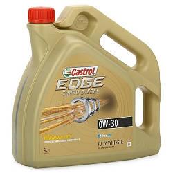 Масло моторное EDGE TURBO DIESEL 0W-30 Titanium 4 л.