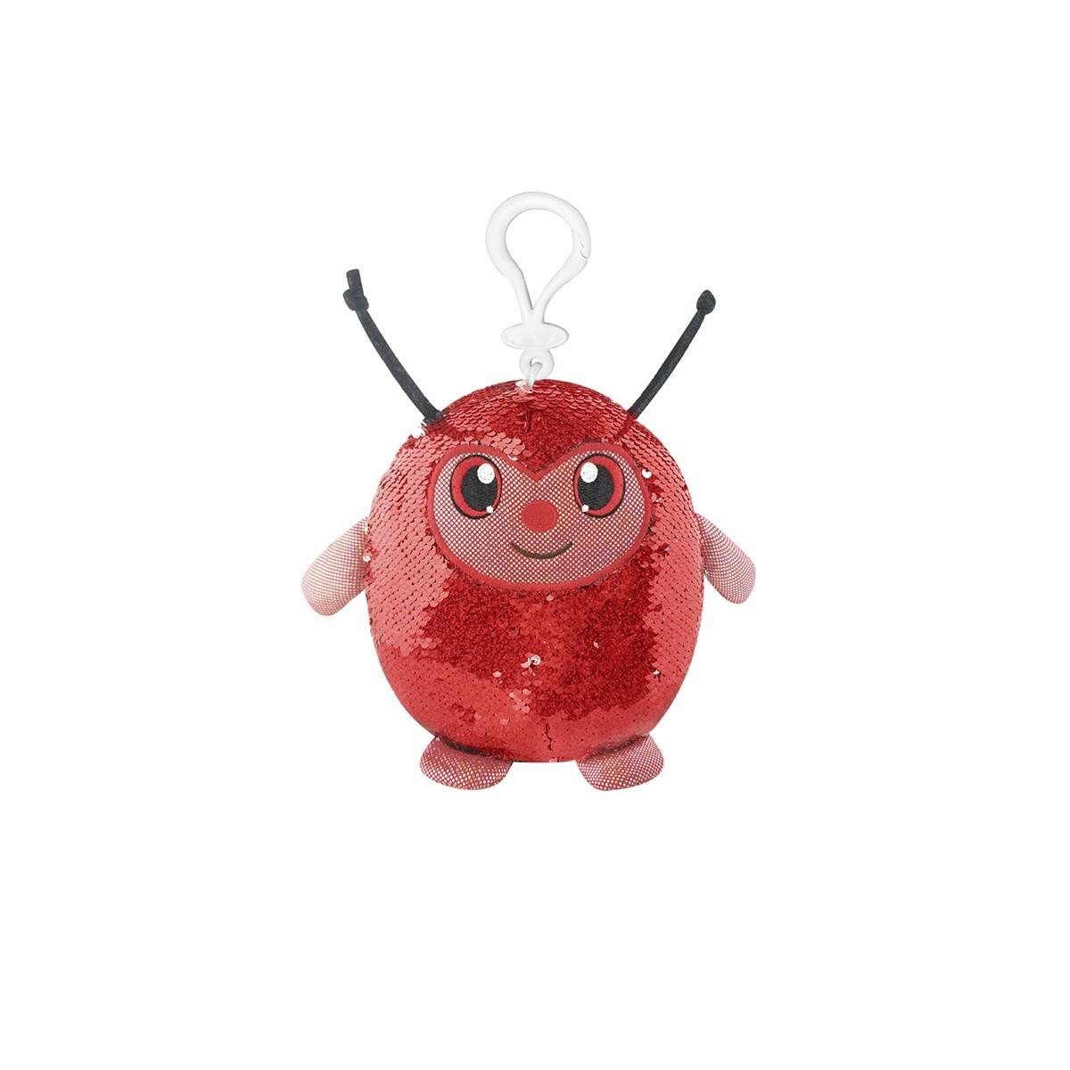 Мягкая игрушка с пайетками SHIMMEEZ – СИМПАТИЧНАЯ БОЖЬЯ КОРОВКА
