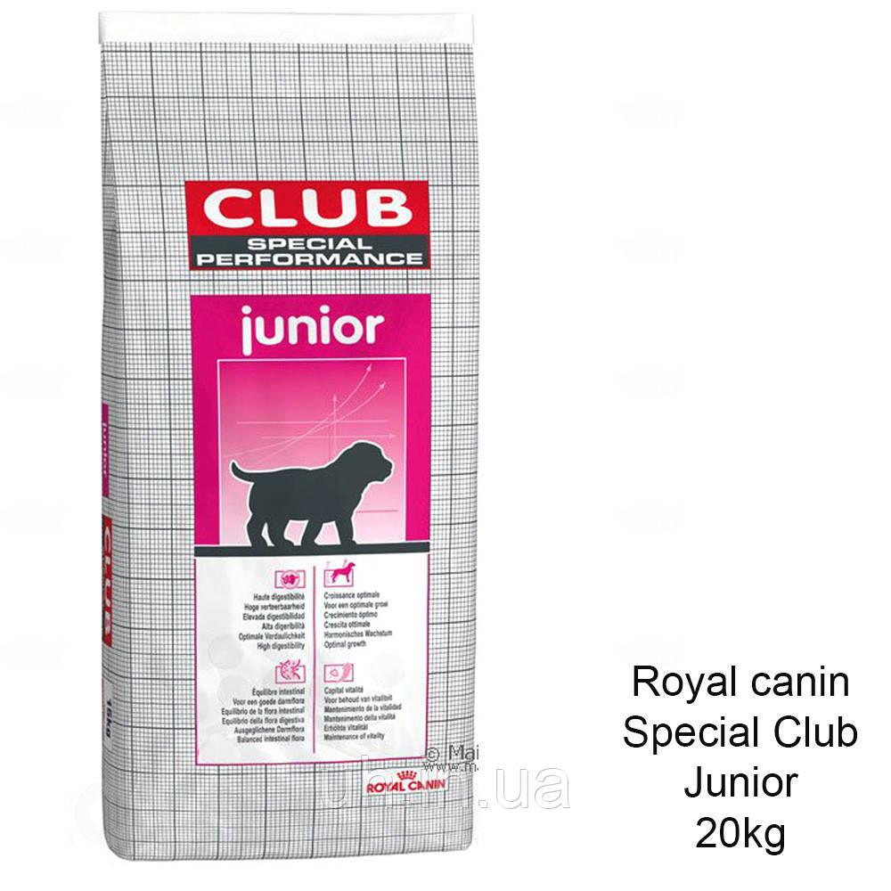 Royal Canin Special Club Performance Junior сухой корм для щенков крупных и гигантских пород 20КГ
