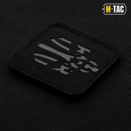 M-Tac нашивка Месник Laser Cut Grey/Black, фото 2