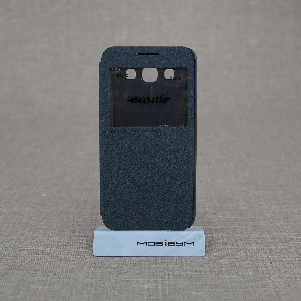 Чехол Nillkin Sparkle Samsung Galaxy E5 [E500] black EAN/UPC: 6956473227908
