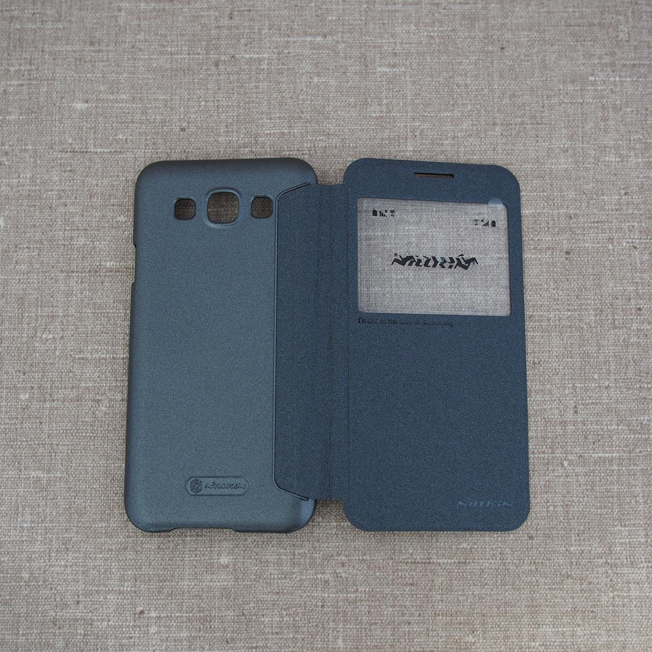 Nillkin Sparkle Samsung Galaxy E5 black Для телефона (E500)