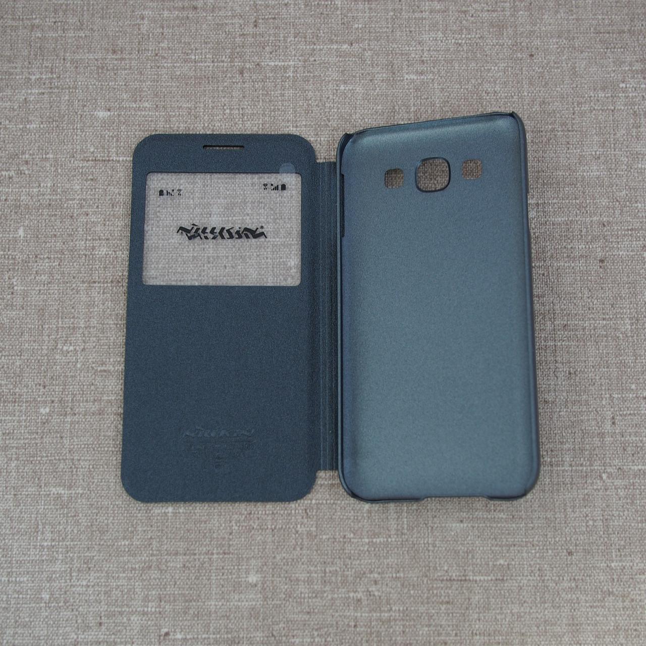 Nillkin Sparkle Samsung Galaxy E5 black Для телефона