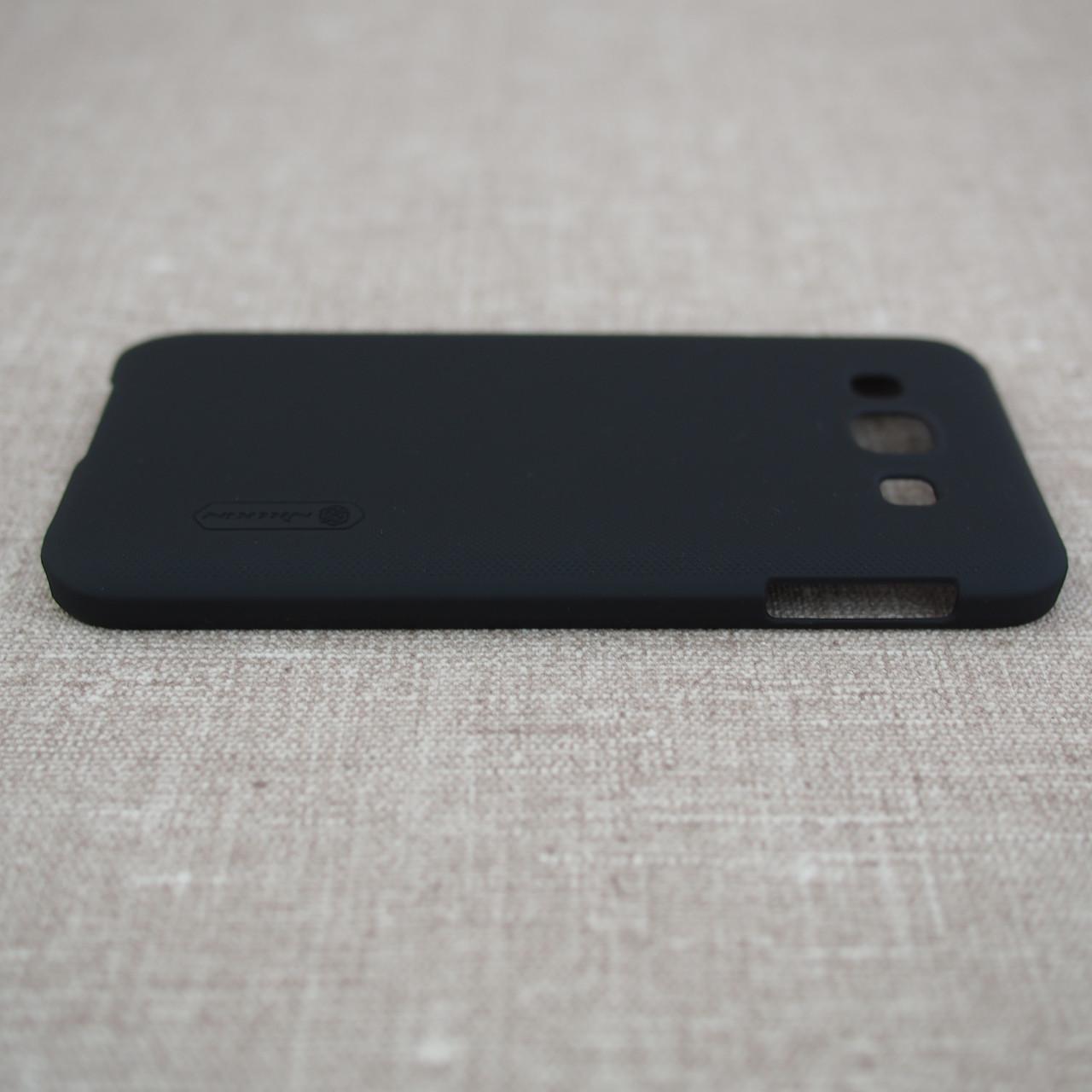 Накладка Nillkin Super Frosted Shield Samsung Galaxy E5 black