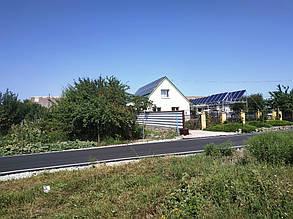 Общий вид дома с уже готовой станцией.