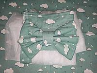 Балдахін на кроватку (тканина бязь Тірасполь)