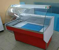 Универсальная витрина Maggiore 1.0 Freddo (мясная) гнутое стекло