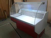 Универсальная витрина Garda 1.0 Freddo (мясная) гнутое стекло
