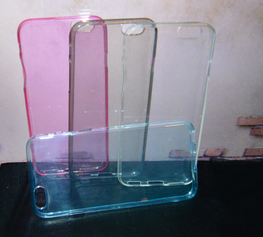 Чехол бампер ультра тонкий Applee и Phone 6 ЦВЕТА