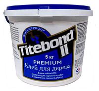 КЛЕЙ СТОЛЯРНЫЙ ДЛЯ ДЕРЕВА TITEBOND II PREMIUM D3 ПРОМ ТАРА 5 кг.