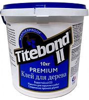 КЛЕЙ СТОЛЯРНЫЙ ДЛЯ ДЕРЕВА TITEBOND II PREMIUM D3 ПРОМ ТАРА 10 кг.