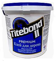 КЛЕЙ СТОЛЯРНЫЙ ДЛЯ ДЕРЕВА TITEBOND II PREMIUM D3 ПРОМ ТАРА 20 кг