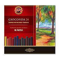 Пастель сухая Koh-i-Noor Gioconda масляная 24 цвета (8354024001KS) (8593539148029), фото 1