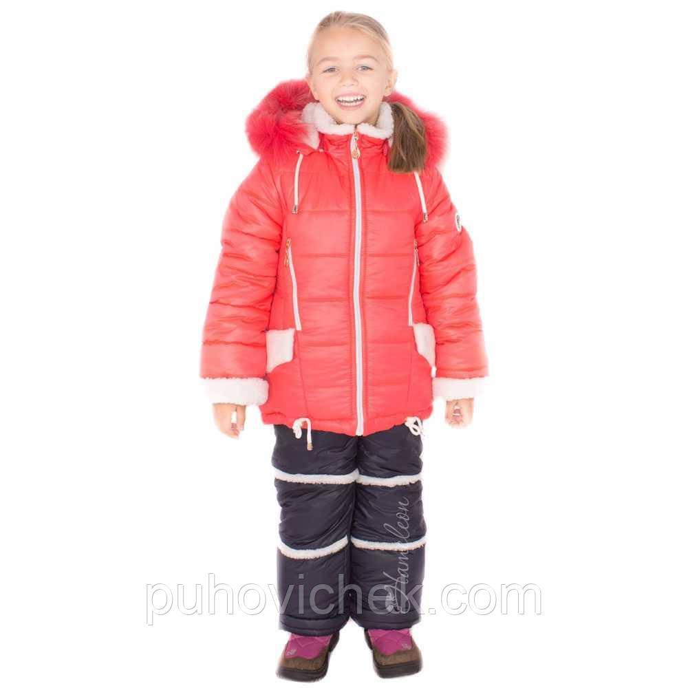 46656193674f Детские зимние комбинезоны для девочек на меху - Интернет магазин Линия  одежды в Харькове