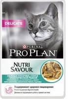Про План консерви для кішок c океанічною рибою в соусі 85Г 24шт