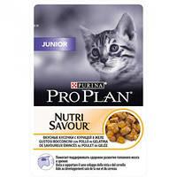 Про План Junior консервы для котят с индейкой в желе 85Г 24шт