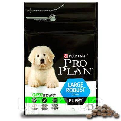 Про План Dog Large Puppy Robust сухой корм для щенков крупных пород c курицей 3КГ