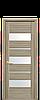 Дверь межкомнатная Лилу со стеклом , цвет в ассортименте