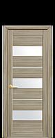 Дверь межкомнатная Лилу со стеклом , цвет в ассортименте, фото 1