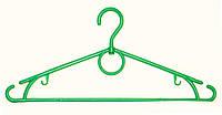 Вешалки- плечики с поворотным крючком прочные  ластиковые 40 см