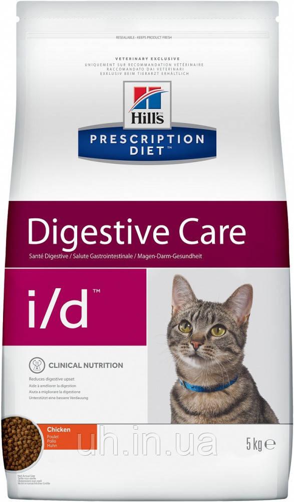 Hill's Prescription Diet i/d Feline лечебный корм для кошек с расстройствами желудочно-кишечного тракта 1,5КГ