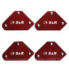 Набор сварочных угольников S&R 4 шт, 290104005