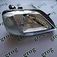 Фара передняя правая Logan Фаза 1, механ корректор grog Корея 6001546789