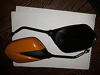 Зеркала Ø8 стекловидные для скутера Honda Dio AF 27,28