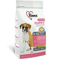 1st Choice Puppy Lamb& Rice сухий корм для цуценят 2,72 КМДА