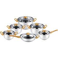 Набор посуды Rainstahl RS 1230-12 MRB 12 предметов